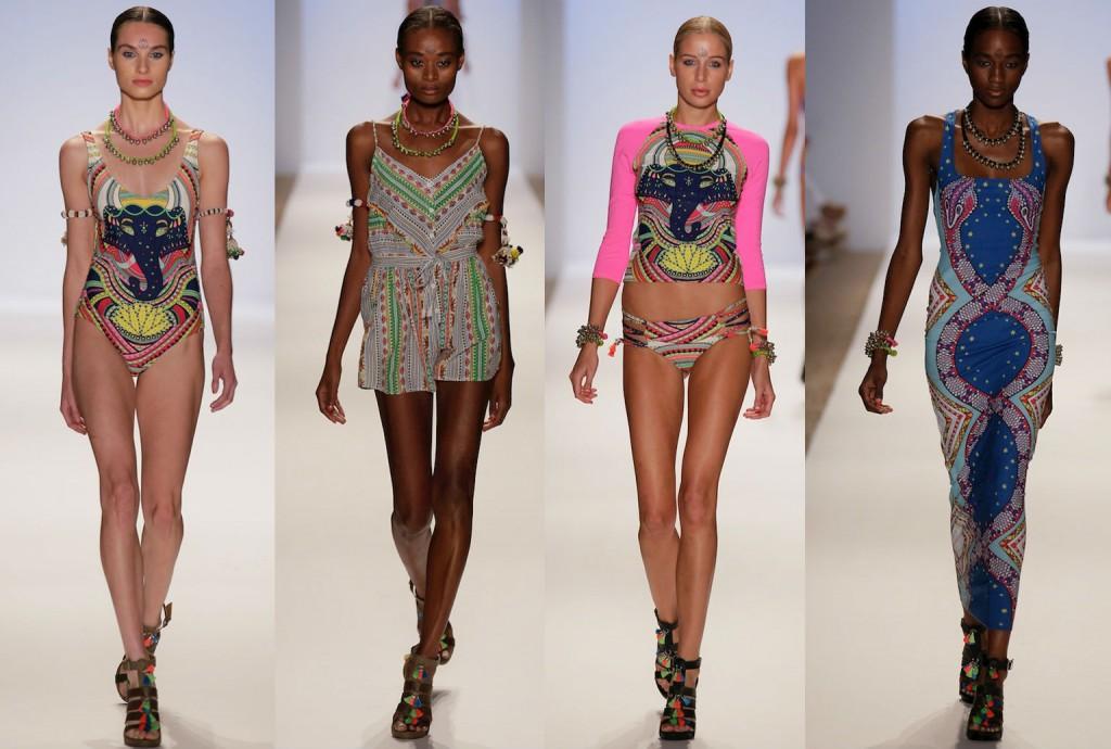 Коллекция пляжной одежды и купальников Mara Hoffman весна-лето 2014