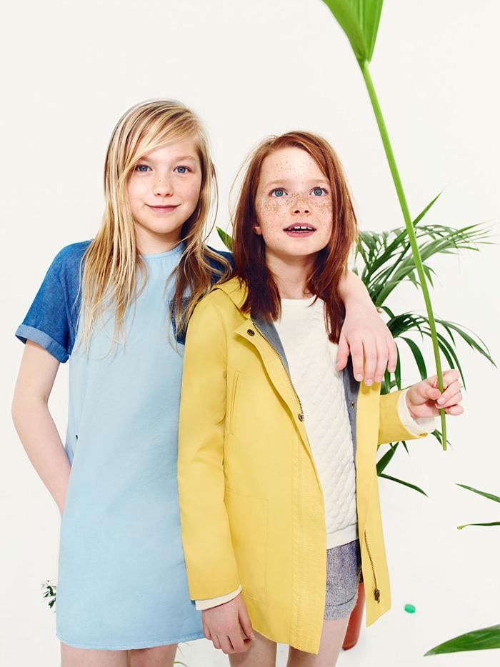 Детская коллекция Zara весна-лето 2014 года