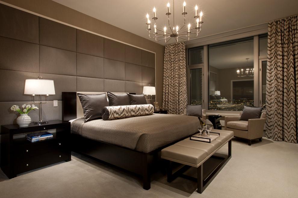 Влияние отеля в интерьере спальни