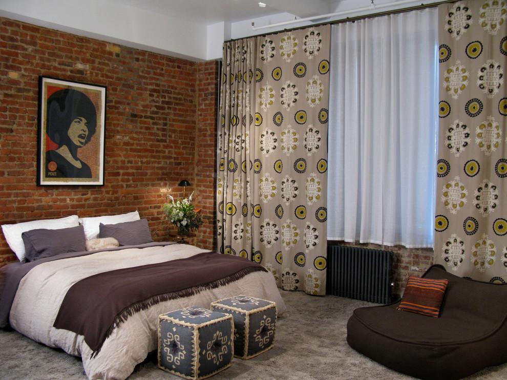 Марокканские акценты в интерьере спальни