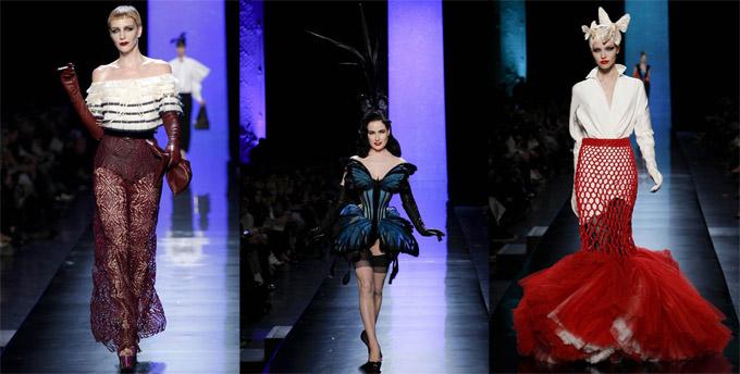 Коллекция женской одежды от Jean Paul Gaultier весна-лето 2014