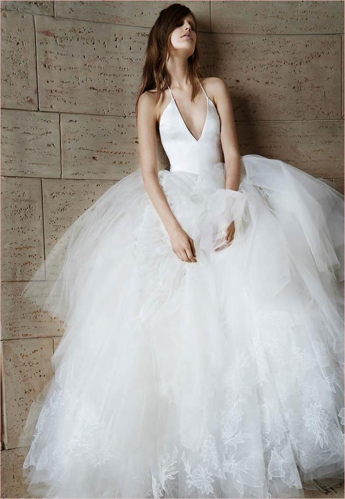Коллекция Свадебных платьев от Vera Wang Весна 2015