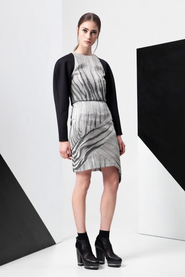 Черно-белая коллекция женской одежды от ADEAM Resort 2015