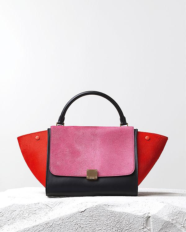 Коллекция кожаных сумок от Céline Осень-Зима 2014-2015