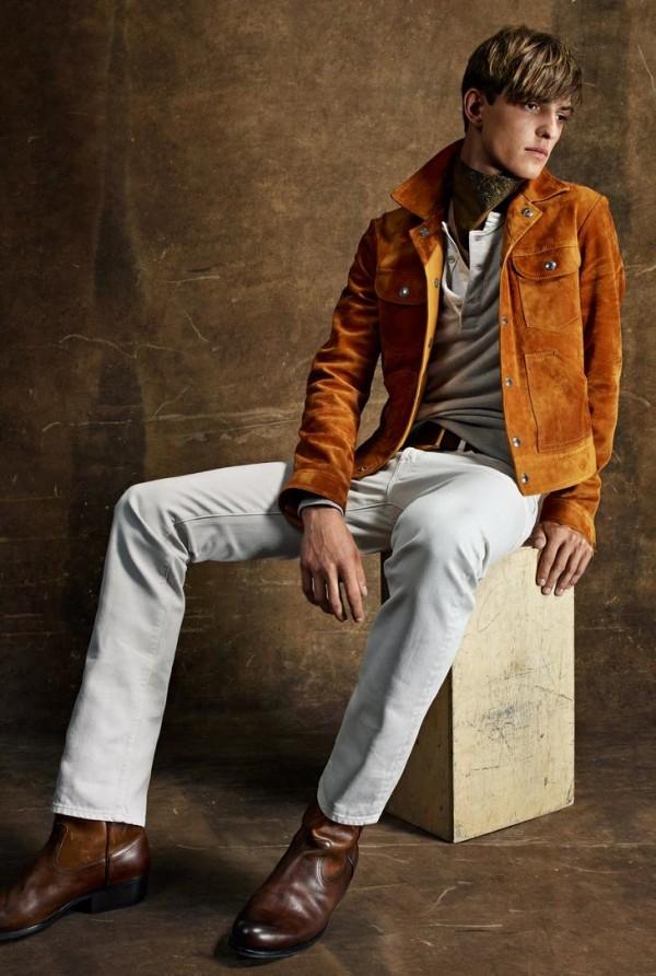 Коллекция мужской одежды от Tom Ford Весна-Лето 2015