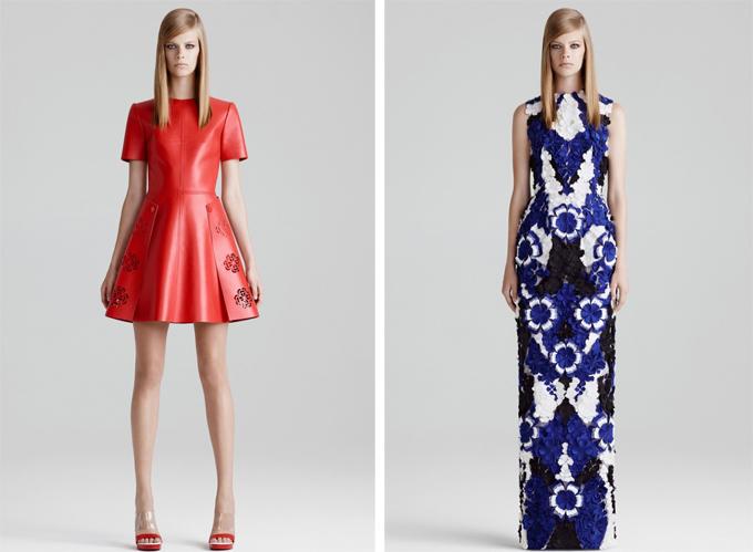 Курортная коллекция женской одежды от Alexander McQueen на 2015 год