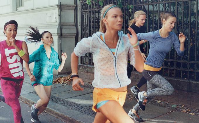 Женская коллекция спортивной одежды Nike Лето 2014
