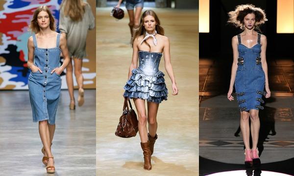 C чем носить джинсовое платье. 4 стильных образа