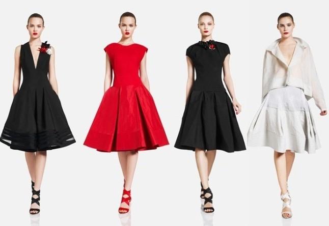 Силуэт платьев в стиле NEW LOOK