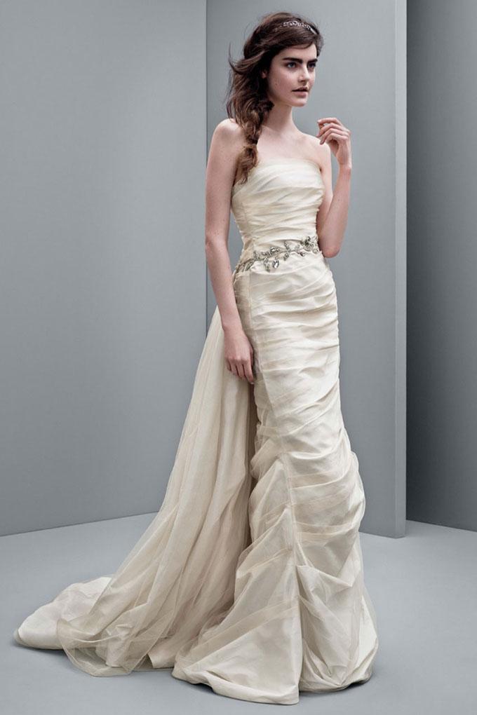 """Свадебные платья в коллекции """"White"""" от Vera Wang 2014"""