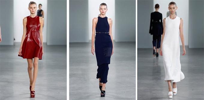 Коллекция женской одежды от Calvin Klein на сезон весна-лето 2015