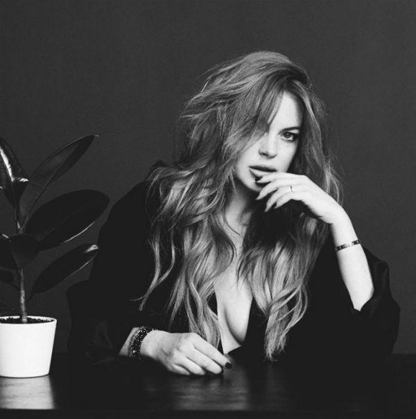 Lindsay Lohan в фотосессии для журнала Wonderland