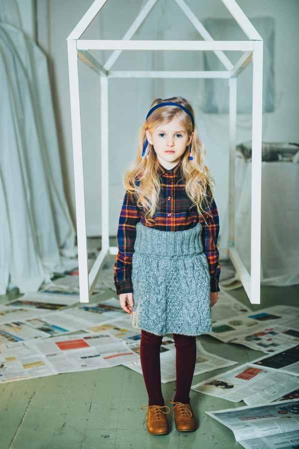 Осенне-зимняя коллекция детской одежды 2014-2015 от бренда Paade Mode