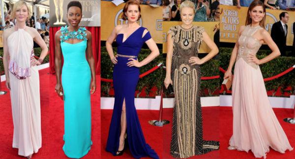 Топ-10 платьев на церемонии наград Screen Actors Guild Awards (SAG 2014)