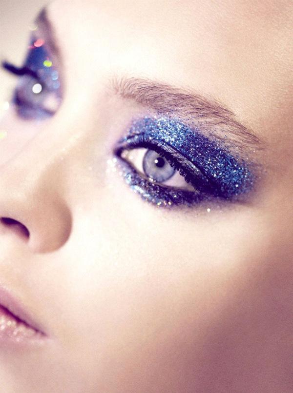 Идеи красивого макияжа на Новый Год 2015-5