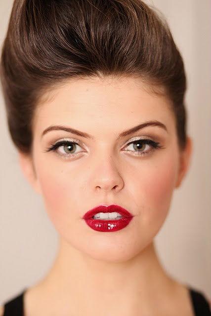 Идеи красивого макияжа на Новый Год 2015-6