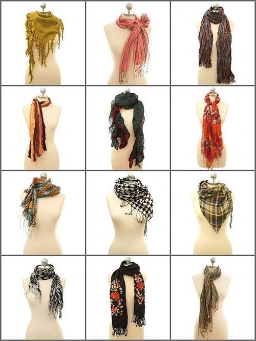 как и с чем носить женский шарф10