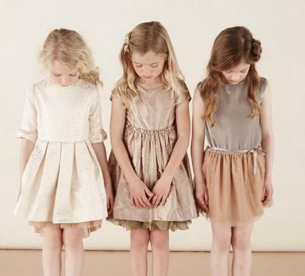 Коллекция детской одежды Marie Chantal на осень-зиму 2014-2015 года