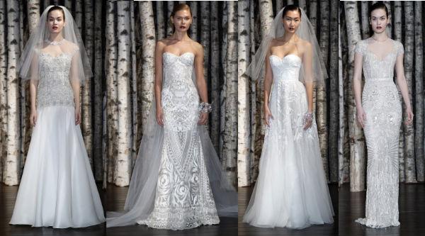 самые красивые свадебные платья 2015 от Naeem Khan