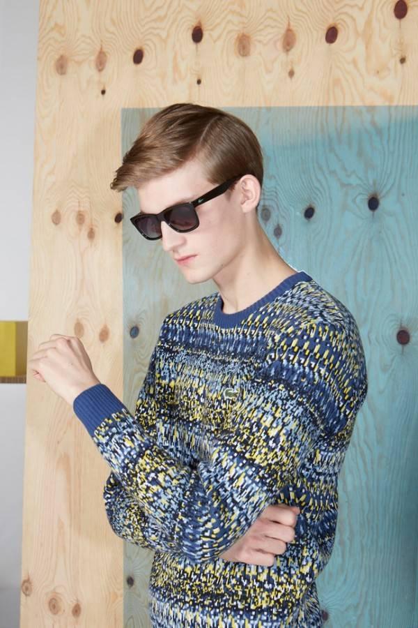 Каталог мужской одежды на осень-зиму 2014-2015 от Lacoste L!VE