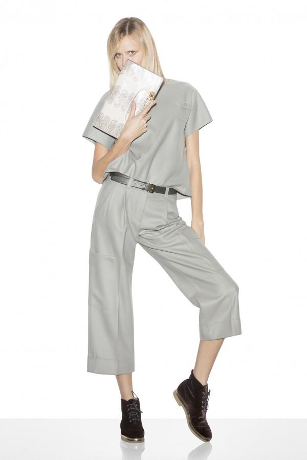 Коллекция женской одежды от бренда Emporio Armani на весну 2015 года