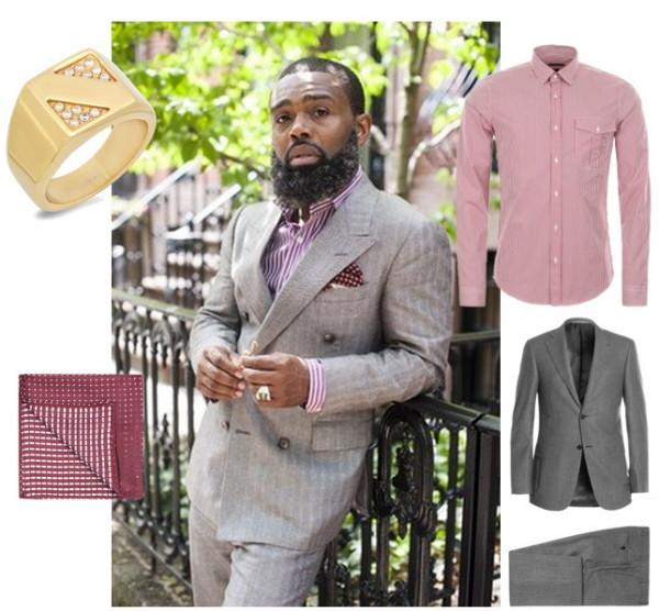 Формальный стиль для мужчин с бородой