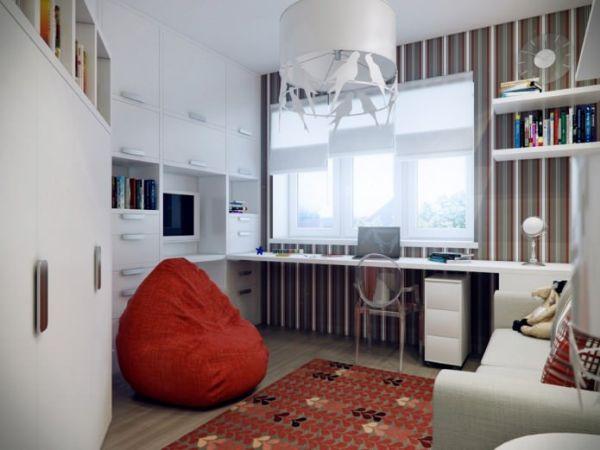 Мини офис в квартире. Как обустроить (5)