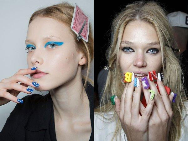 Модные тенденции в маникюре 2015 (8)