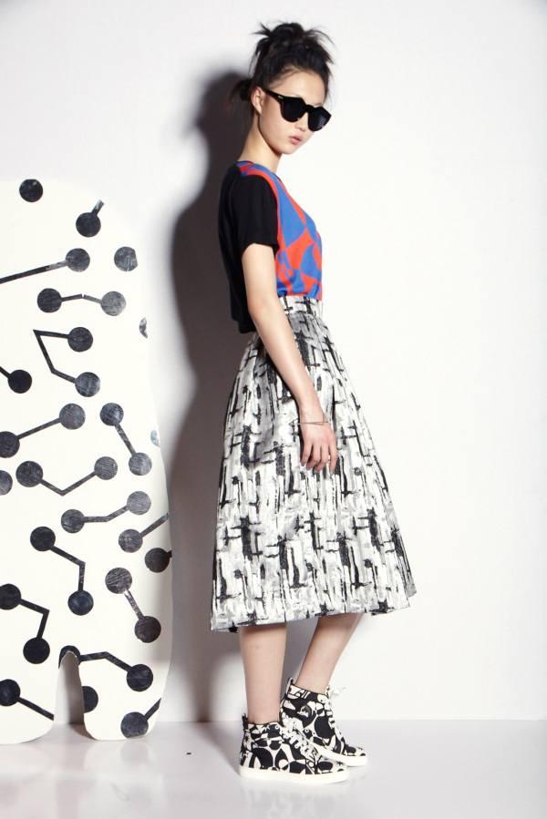 Модные юбки весна-лето 2015 (5)