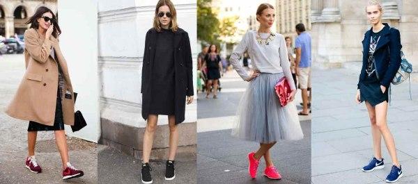 С чем носить кеды и кроссовки весной 2015 года