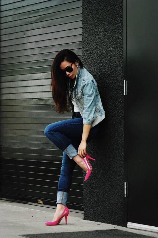 С чем носить остроносые туфли