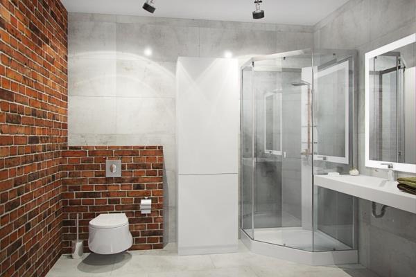 Интерьер ванной в стиле лофт (2)