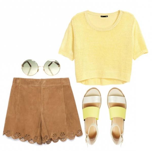 Как и с чем носить замшевые вещи летом (1)