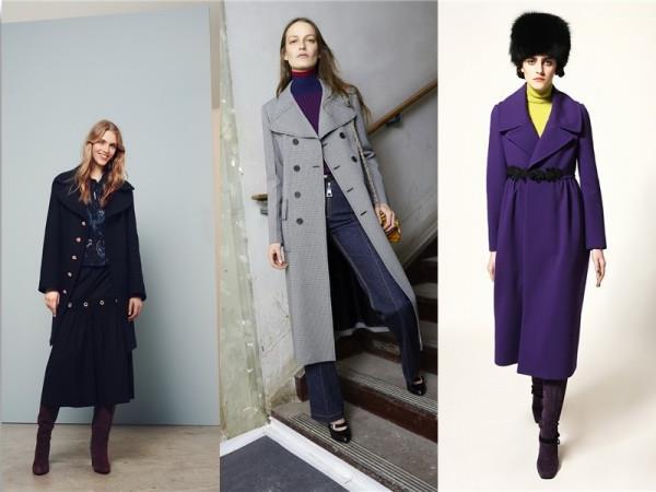 модные пальто осень 2015-2016 фото