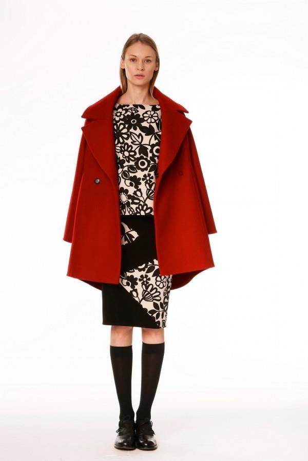 Модные женские пальто сезона осень-зима 2015-2016 (10)