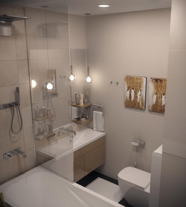 Ванная комната в эко стиле: подбираем сантехнику и мебель