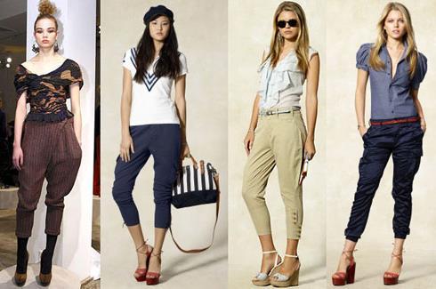 С чем носить женские брюки галифе