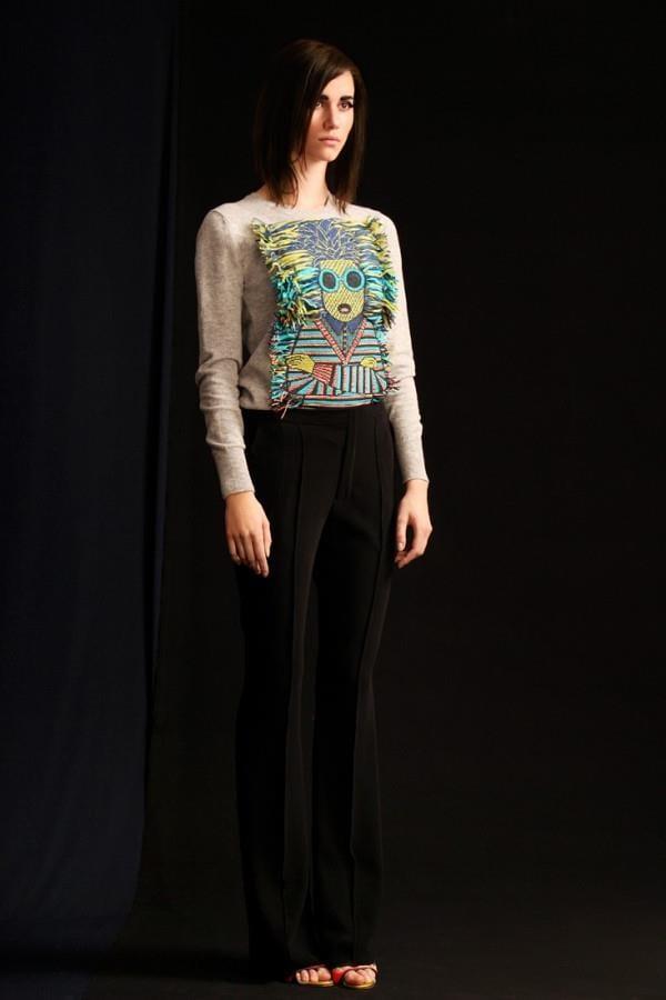Коллекция женской одежды с вышивкой (5)
