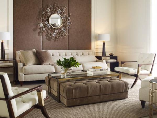 Как обустроить интерьер гостиной в бежевом цвете с комфортом (2)