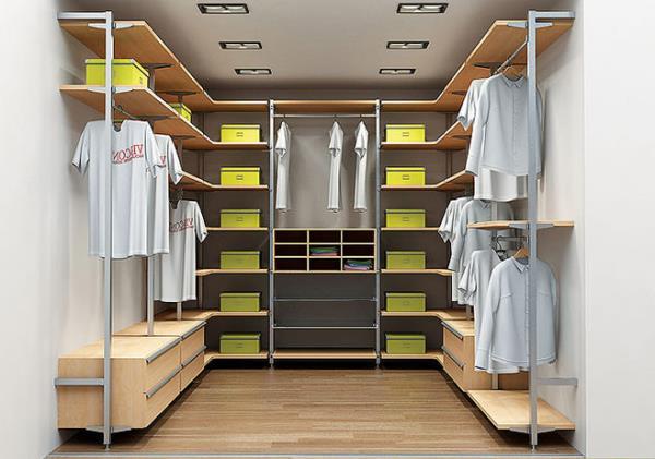 Как обустроить гардеробную в квартире