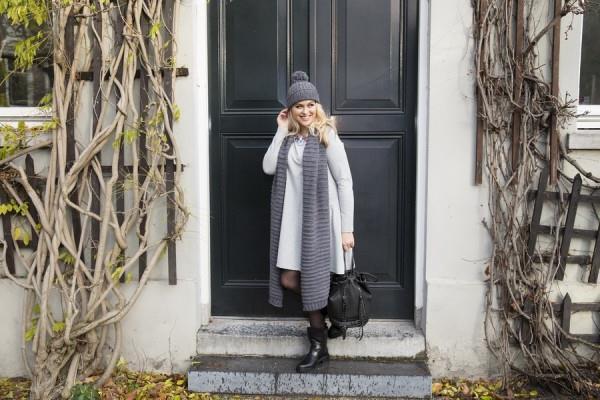 Коллекция красивой одежды для полных женщин от Yoek Осень-Зима 2015-2016 (2)