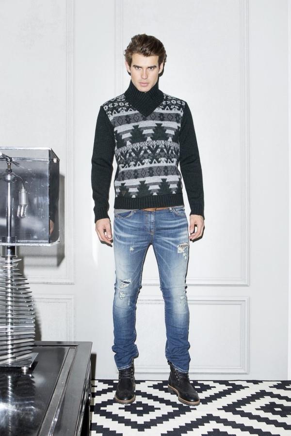 Коллекция стильной мужской одежды осень-зима 2015-2016 от Guess (8)
