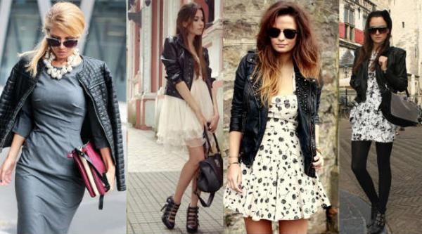 da8eb5ce924 С чем носить женскую кожаную куртку (10)