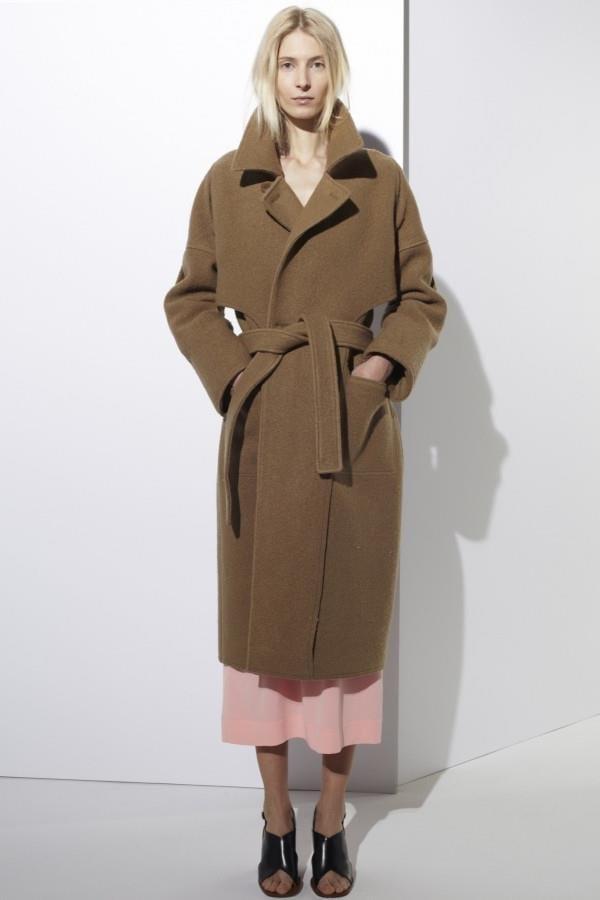 Модная тенденция 2016 - пальто с поясом (20)