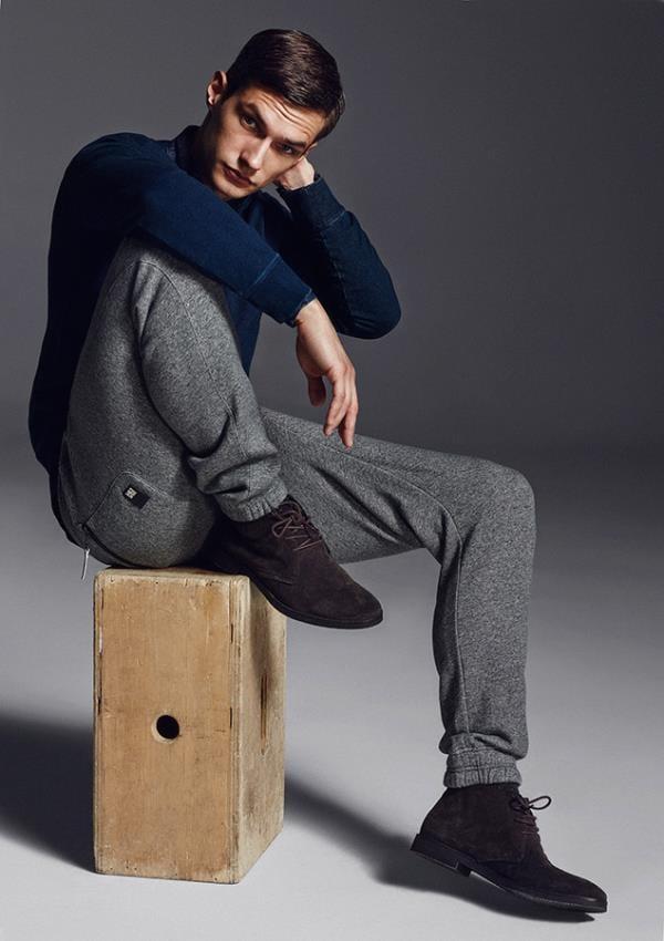 Lookbook новой коллекции мужской одежды Reserved 2016 (12)