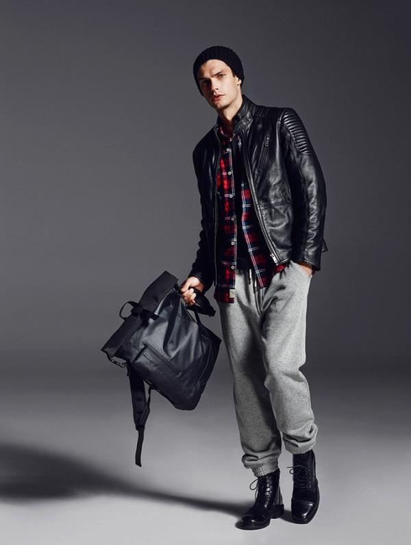 Lookbook новой коллекции мужской одежды Reserved 2016 (13)