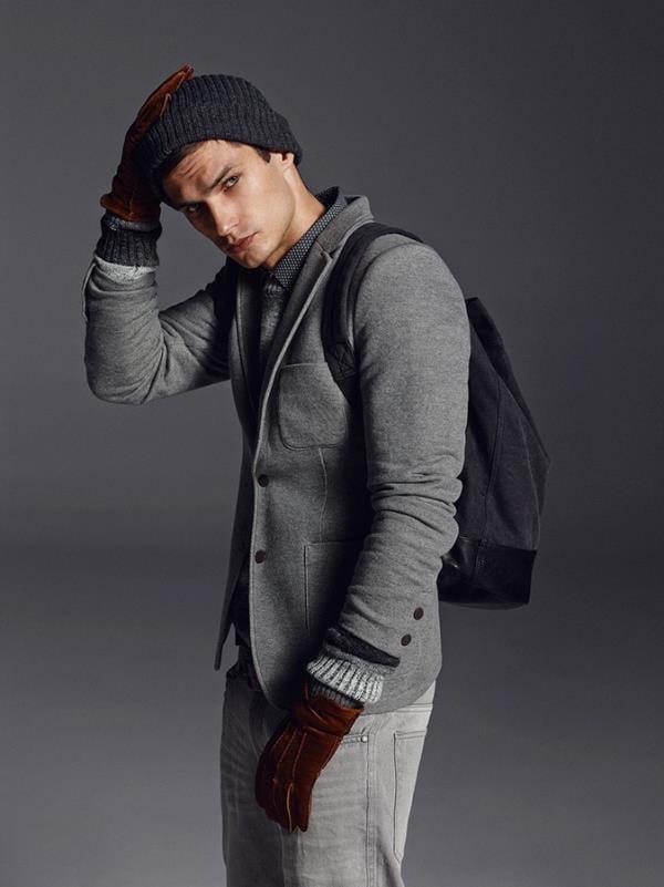 Lookbook новой коллекции мужской одежды Reserved 2016 (14)