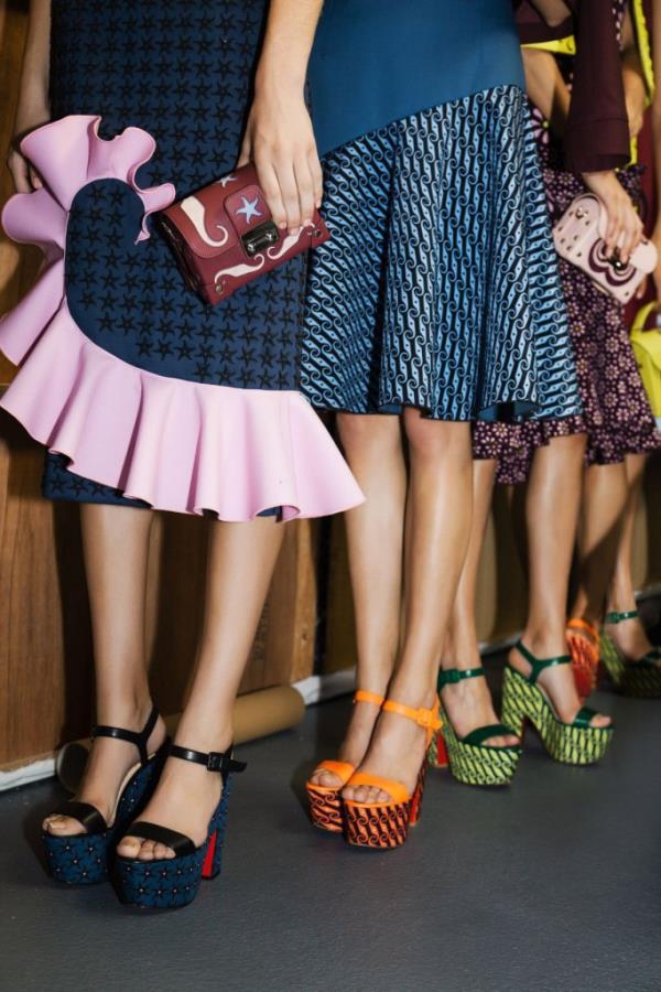 Модная обувь 2016: Платформа + широкий толстый каблук