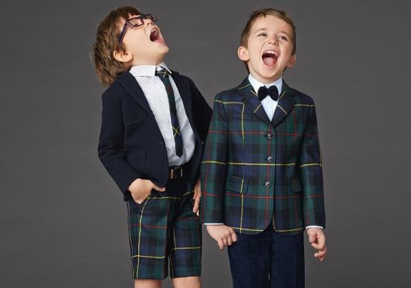 Детская коллекция Dolce & Gabbana, весна-лето 2016 (13)