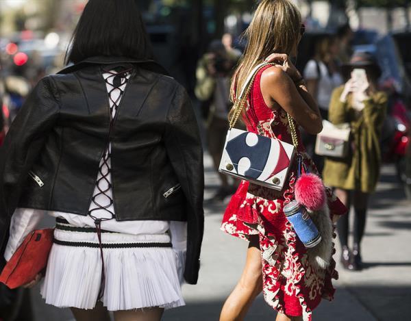Модные уличные образы весны 2016. Street fashion 2016 (2)